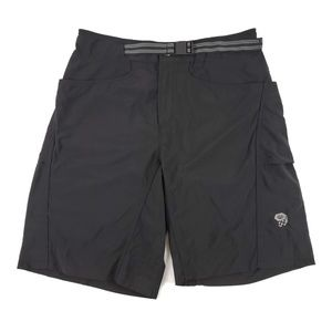 Mountain Hardwear Mens S Belted Hiking Shorts